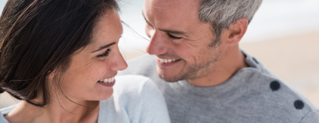 heart healthy man and woman